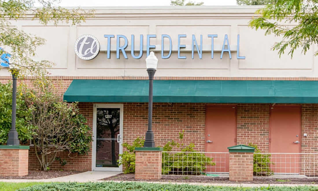 True Dental store front